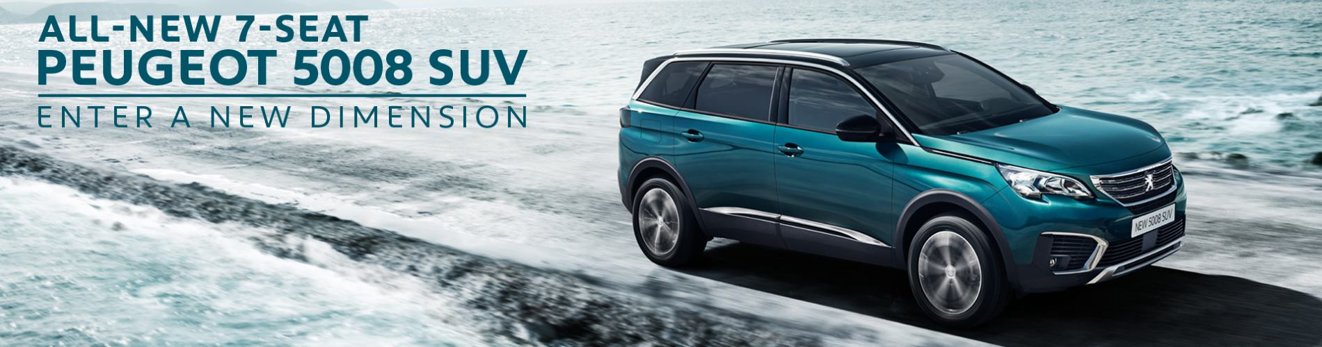 New Peugeot 5008 S U V Offer at Wycliffe Peugeot Rugby