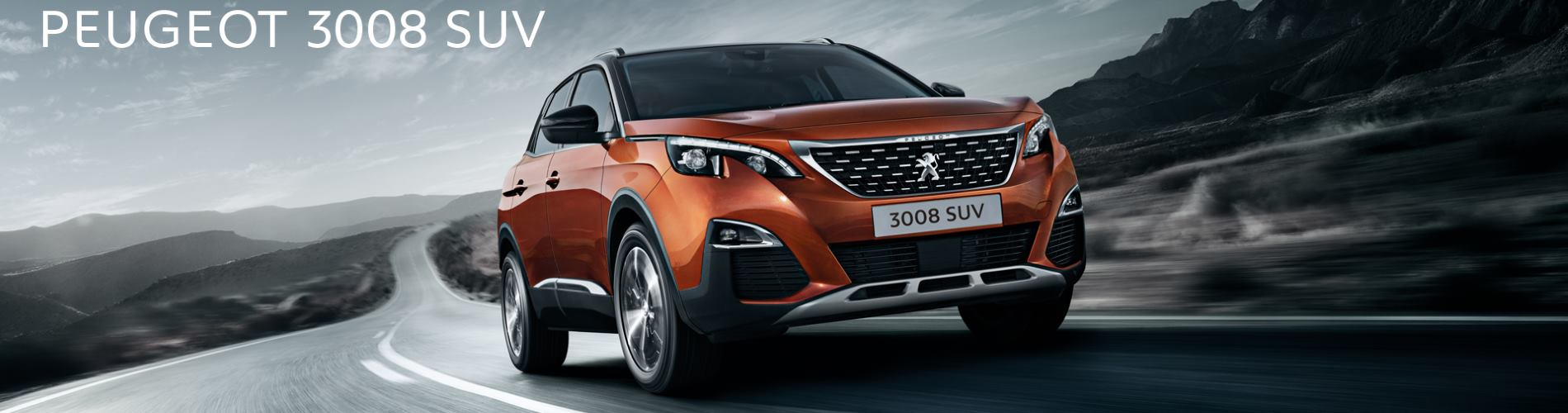 New Peugeot 3008 S U V Offer at Wycliffe Peugeot Rugby