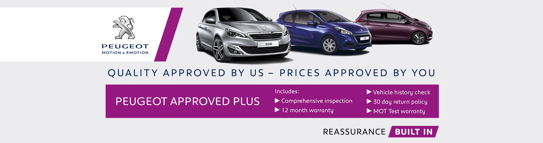 Peugeot Approved Used Cars