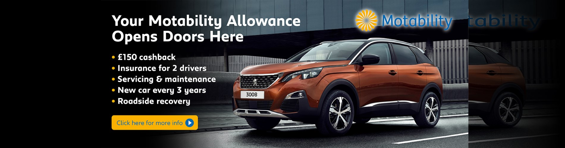 Motability Offers at Wycliffe Peugeot Rugby