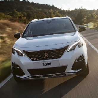 Peugeot 3008 as part of the new car range